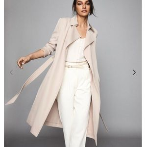NWT Reiss Darcie trench coat twill jacket duster